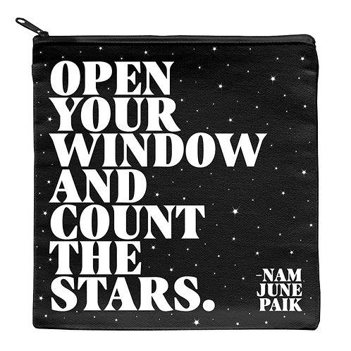 Quotable 7 inch square bag