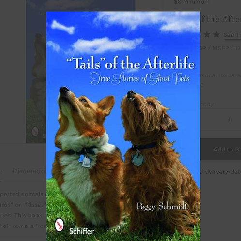 """Tails"" of the Afterlife paperback"