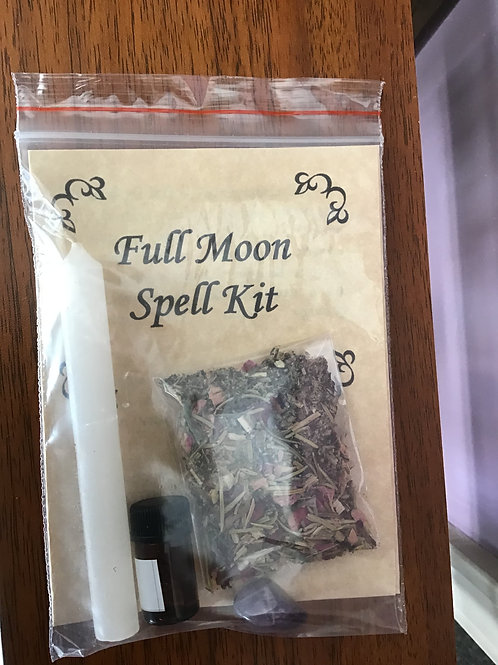 Full Moon Spell Kit