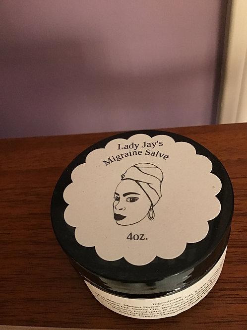 Lady Jays Migraine Salve