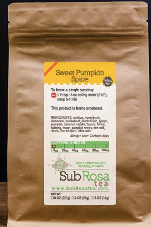 Sweet  Pumpkin Spice Tea