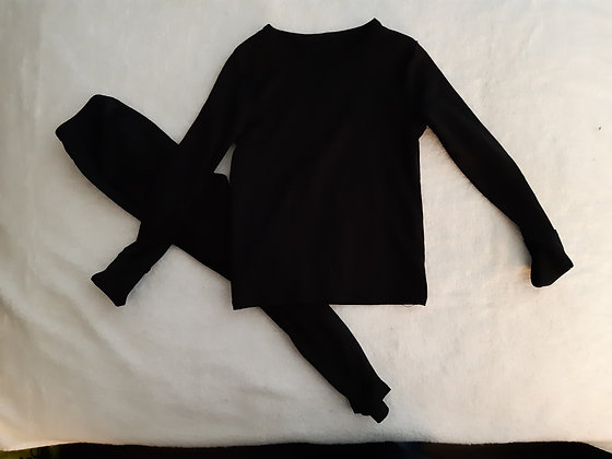 Black Long Johns/Pyjamas
