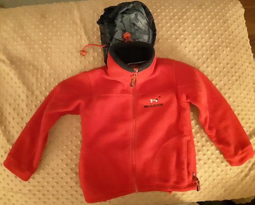Himalaya Mountain Red Fleece