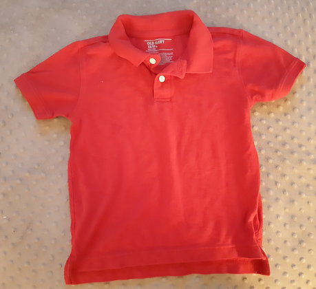 Old Navy Golf Red