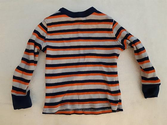 Old Navy Striped Blue & Orange