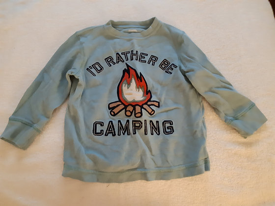 Gymboree I'd Rather Be Camping