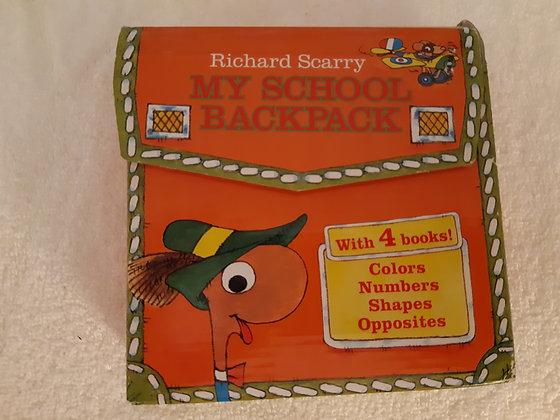 Richard Scarry Set of 4 Books