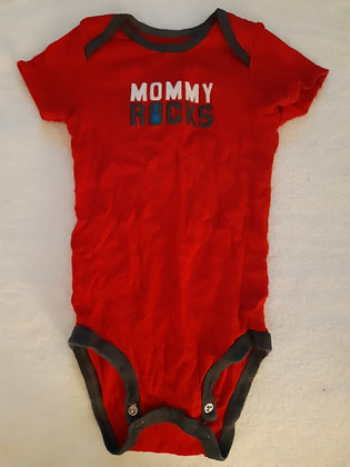 Carter's Mommy Rocks Red