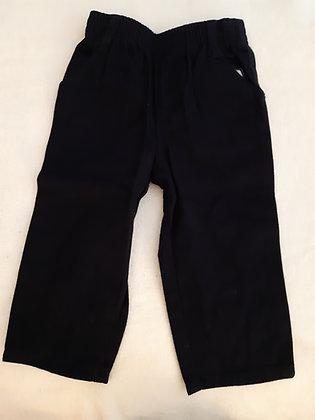 Cotton Pants Navy
