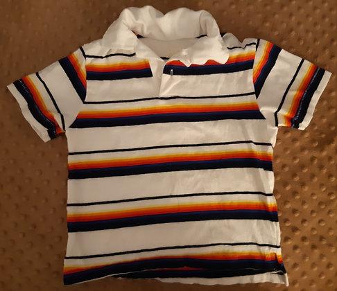 Children's Place Blue & Orange Striped