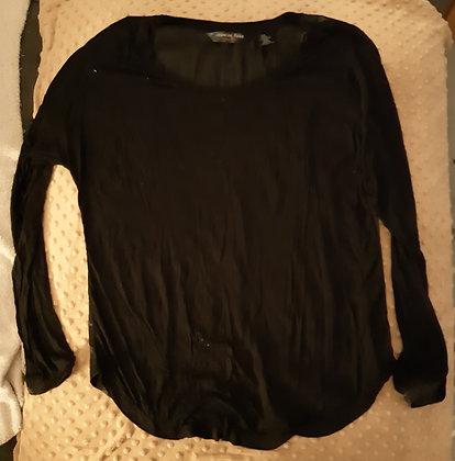 Jasmine Rose Black Silk (Size M)