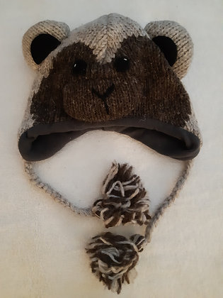 Monkey Knitted Hat
