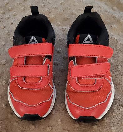 Reebok Red & Black Runners