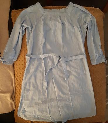 Old Navy Blue Striped Dress (Size M)