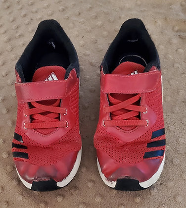Adidas Red & Black Runners