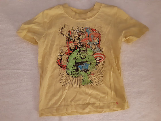 Marvel Comics Avengers Yellow