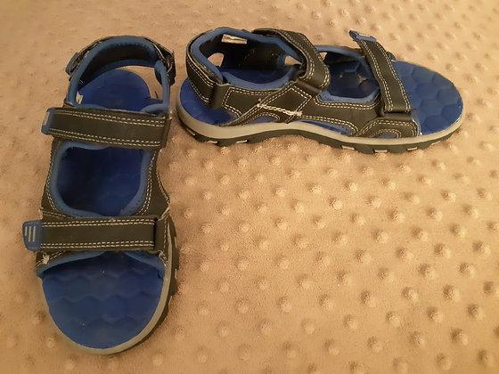 George Blue Sandals