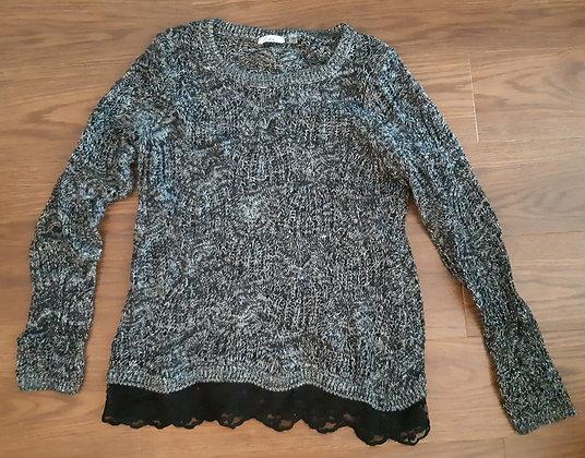 Dex Black & White Knit (Size S)