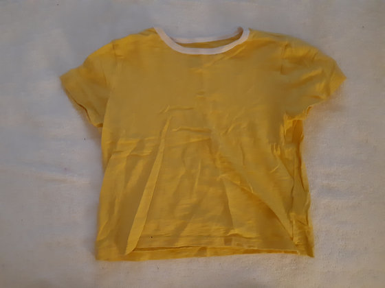 Yellow Short Sleeve