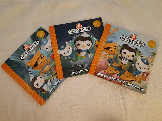 Octonauts 3 Book Collection