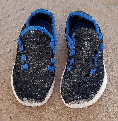 Black & Blue Slip Ons
