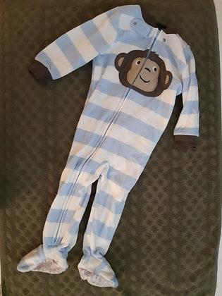 Carter's Monkey Blue Striped