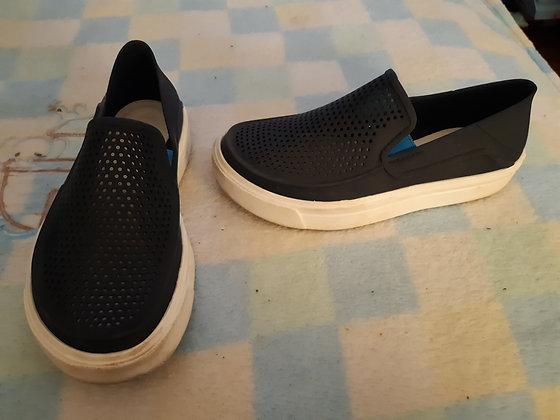 Crocs Navy Loafers