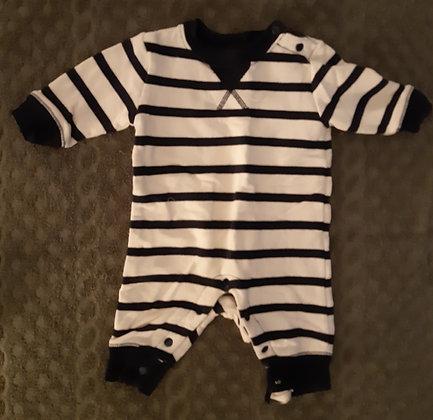 Joe Fresh White & Blue Striped