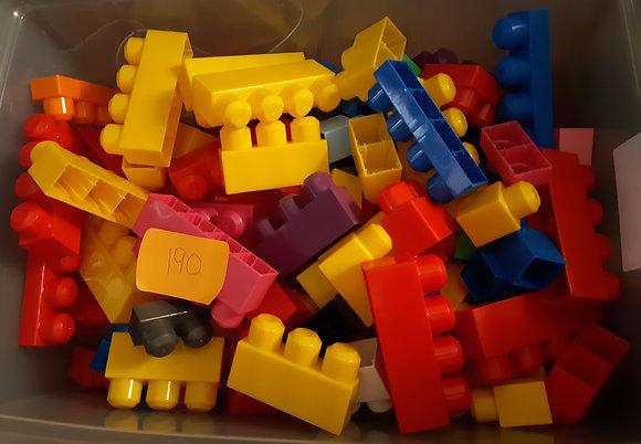 Mega Blocks 190 Pieces