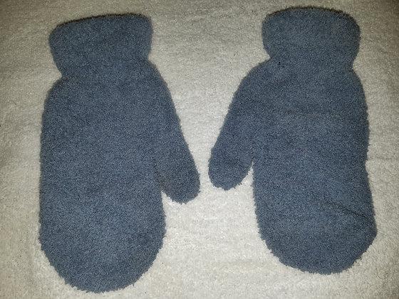 Light Blue Fleece Mittens
