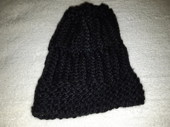 Black Knitted