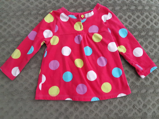 George Pink Dots Fleece