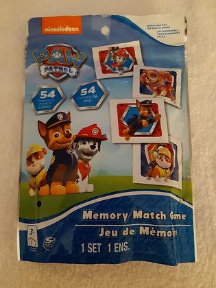 Paw Patrol Memory Match