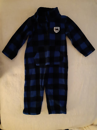 Carter's Plaid Fleece