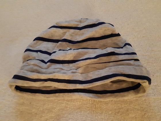 GAP Blue Striped Beanie Hat