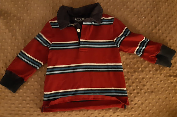 Children's Place Red & Blue Striped