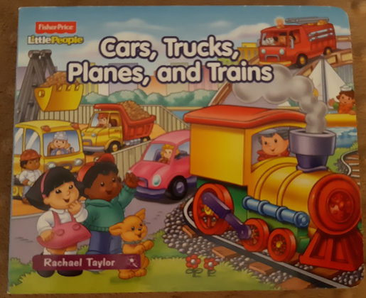 Fisher Price - Cars, Trucks, Planes, and Trains