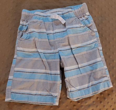 Jumping Beans Grey & Blue Stripes Size 5