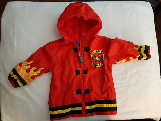 Fire Chief Lined Raincoat