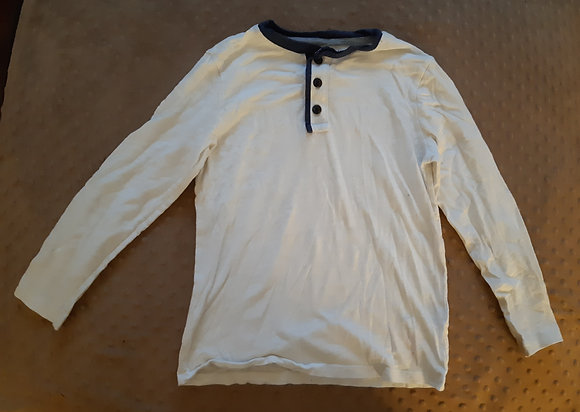 Old Navy White 3 Button
