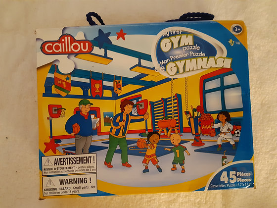 Caillou Gym Puzzle
