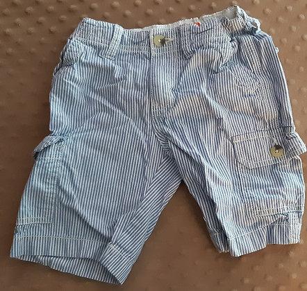 Joe Fresh Shorts Blue Stripes
