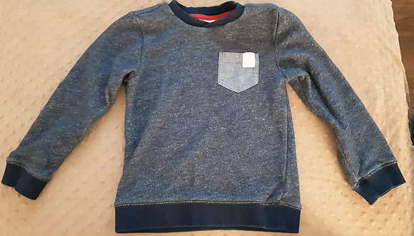 Carter's Sweater with Pocket Blue