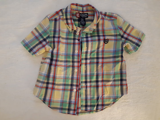 Polo (Chaps) Plaid Dress Shirt