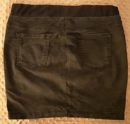 GAP Black Jean Skirt (Size M)