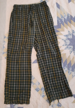 Old Navy Green Plaid - Size M