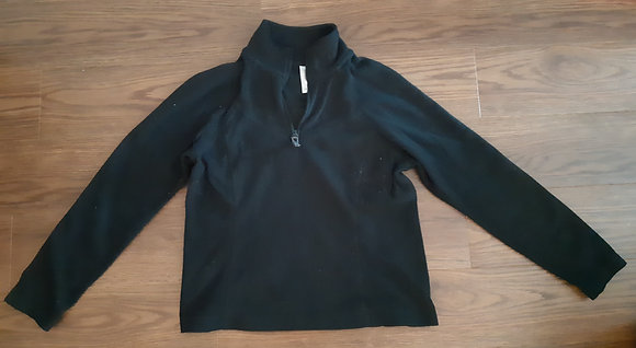 Old Navy Black Fleece (Size L)