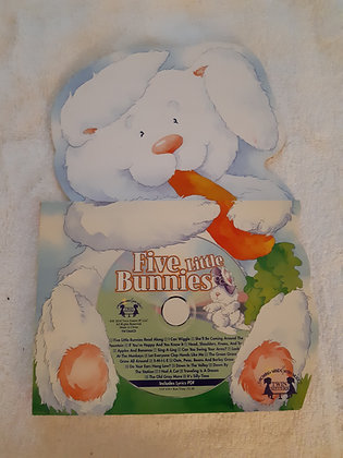 Five Little Bunnies with CD