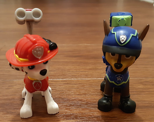 Paw Patrol - Marshall & Chase Figures
