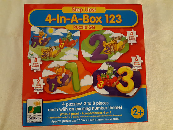 Step Ups! 4-In-A-Box 123 Puzzle